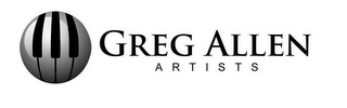 mark for GREG ALLEN A R T I S T S, trademark #85753581