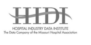 mark for HIDI HOSPITAL INDUSTRY DATA INSTITUTE THE DATA COMPANY OF THE MISSOURI HOSPITAL ASSOCIATION, trademark #85753617