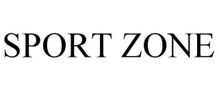 mark for SPORT ZONE, trademark #85753802