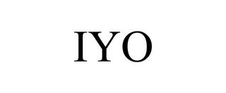mark for IYO, trademark #85753836