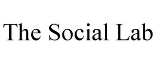 mark for THE SOCIAL LAB, trademark #85754094