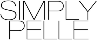 mark for SIMPLY PELLE, trademark #85754111