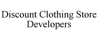 mark for DISCOUNT CLOTHING STORE DEVELOPERS, trademark #85754261