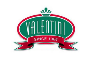 mark for VALENTINI SINCE 1966, trademark #85754396