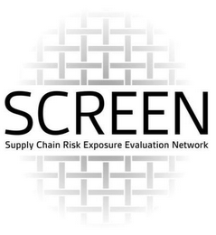 mark for SCREEN SUPPLY CHAIN RISK EXPOSURE EVALUATION NETWORK, trademark #85754441