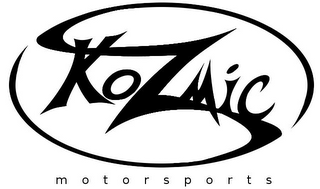 mark for KOZMIC MOTORSPORTS, trademark #85754493