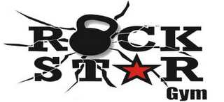 mark for ROCK STAR GYM, trademark #85754605