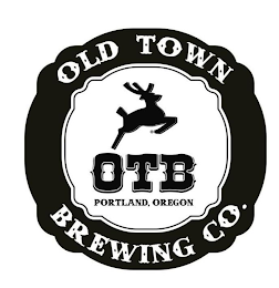 mark for OTB OLD TOWN BREWING CO. PORTLAND, OREGON, trademark #85754720