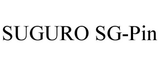 mark for SUGURO SG-PIN, trademark #85754737