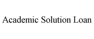 mark for ACADEMIC SOLUTION LOAN, trademark #85754830