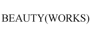 mark for BEAUTY(WORKS), trademark #85754864
