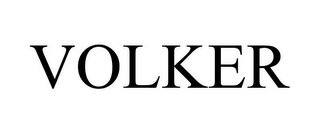 mark for VOLKER, trademark #85754963