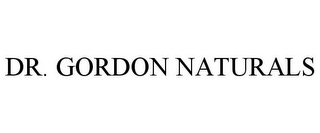 mark for DR. GORDON NATURALS, trademark #85755285