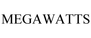 mark for MEGAWATTS, trademark #85755303