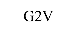 mark for G2V, trademark #85755357