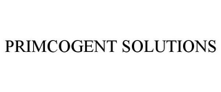 mark for PRIMCOGENT SOLUTIONS, trademark #85755358