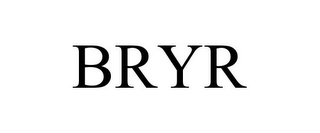 mark for BRYR, trademark #85755428