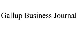 mark for GALLUP BUSINESS JOURNAL, trademark #85755580