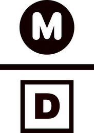 mark for M D, trademark #85755599