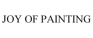 mark for JOY OF PAINTING, trademark #85755895