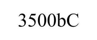 mark for 3500BC, trademark #85756007