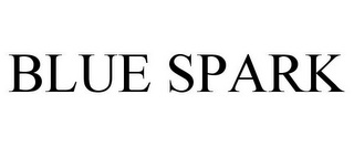 mark for BLUE SPARK, trademark #85756120