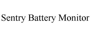 mark for SENTRY BATTERY MONITOR, trademark #85756254