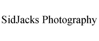 mark for SIDJACKS PHOTOGRAPHY, trademark #85756286