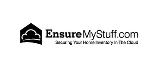 mark for ENSUREMYSTUFF.COM SECURING YOUR HOME INVENTORY IN THE CLOUD, trademark #85756347