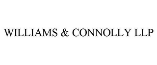 mark for WILLIAMS & CONNOLLY LLP, trademark #85756397