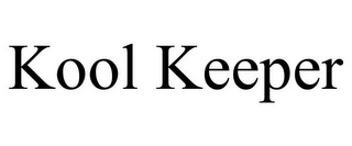 mark for KOOL KEEPER, trademark #85756493