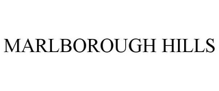mark for MARLBOROUGH HILLS, trademark #85756639