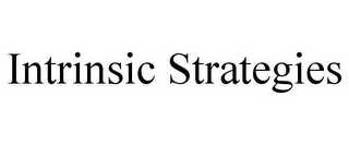 mark for INTRINSIC STRATEGIES, trademark #85756668
