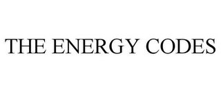 mark for THE ENERGY CODES, trademark #85756720
