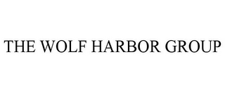 mark for THE WOLF HARBOR GROUP, trademark #85756754