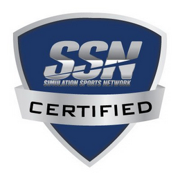 mark for SSN SIMULATION SPORTS NETWORK CERTIFIED, trademark #85756766