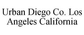 mark for URBAN DIEGO CO. LOS ANGELES CALIFORNIA, trademark #85756903