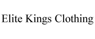 mark for ELITE KINGS CLOTHING, trademark #85756989
