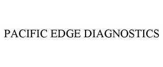 mark for PACIFIC EDGE DIAGNOSTICS, trademark #85757325