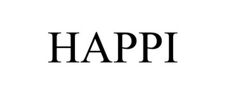 mark for HAPPI, trademark #85757530