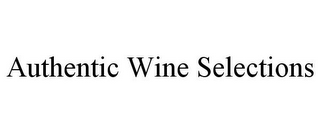 mark for AUTHENTIC WINE SELECTIONS, trademark #85757781