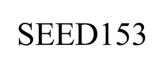 mark for SEED153, trademark #85757893
