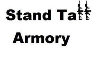 mark for STAND TALL ARMORY, trademark #85757934