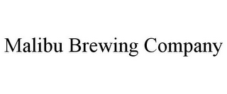 mark for MALIBU BREWING COMPANY, trademark #85757937