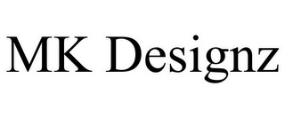 mark for MK DESIGNZ, trademark #85757964