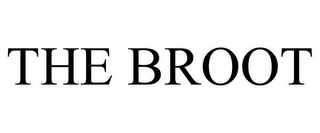 mark for THE BROOT, trademark #85758058