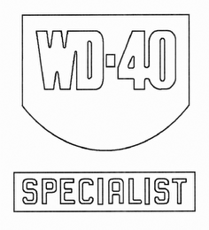 mark for WD-40 SPECIALIST, trademark #85758084