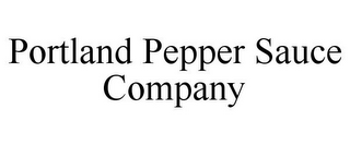 mark for PORTLAND PEPPER SAUCE COMPANY, trademark #85758165