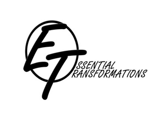mark for ESSENTIAL TRANSFORMATIONS, trademark #85758536
