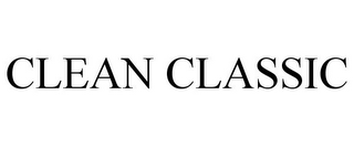 mark for CLEAN CLASSIC, trademark #85758630